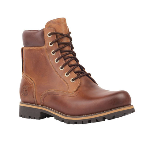 "Timberland Mens Rugged 6"" Plain Toe Waterproof Boot"