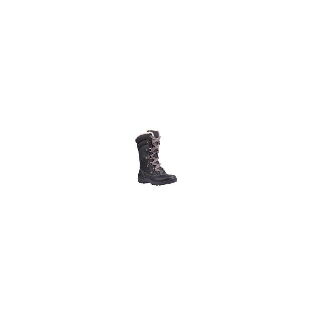 Timberland Womens Mount Hope Mid Fabric With Leather Waterproof Insulated  Boot 41d4f552307c