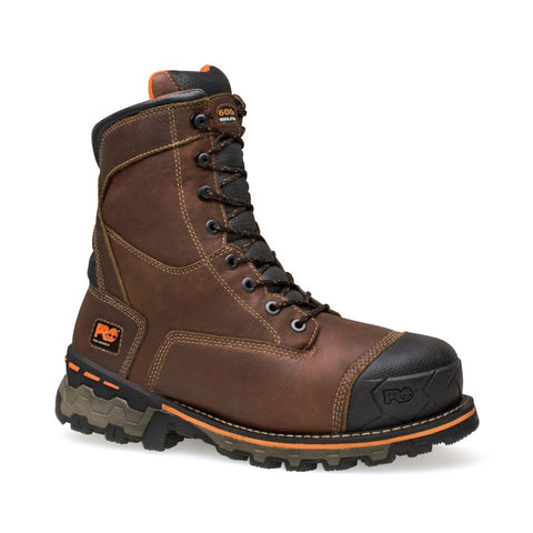 "Timberland PRO Men's 8"" Boondock Soft Toe Waterproof Insulated Boot"