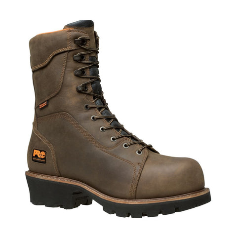 "Timberland PRO Men's 9"" Rip Saw Composite Safety Toe Waterproof Insulated Logger Boot"