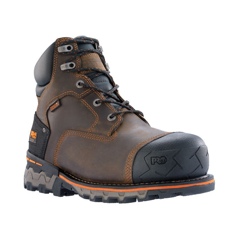 "Timberland PRO Men's 6"" Boondock Composite Safety Toe Waterproof Boot"