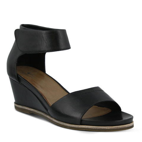 Spring Step Women's Tithe Sandal Black