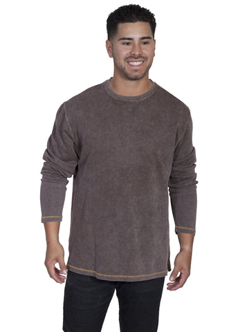 Scully TR-058 Men's Cotton Ribbed Knit T-Shirt