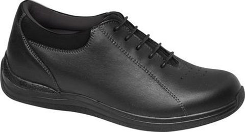 Drew Shoes Women's Tulip Shoes Black Full Grain Leather