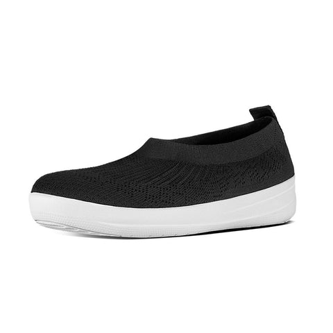 Fitflop Women's Überknit™ Slip-On Ballerinas Black