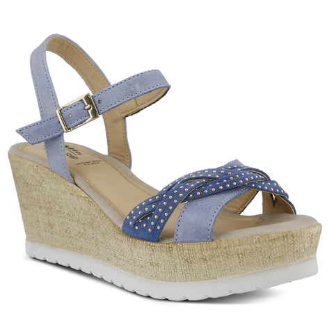 Spring Step Women's Uribia Sandal Blue