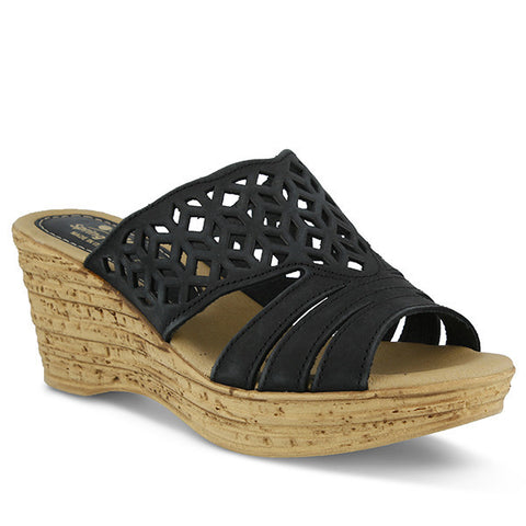 Spring Step Women's Vino Slide Sandal Black