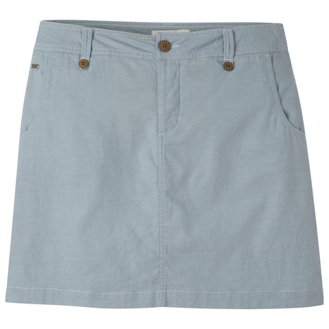 Mountain Khakis Women's Island Skirt Classic Fit - Blue Ridge