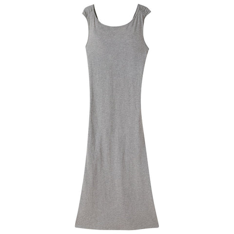 Mountain Khakis Women's Solitude Maxi Dress - Heather Grey