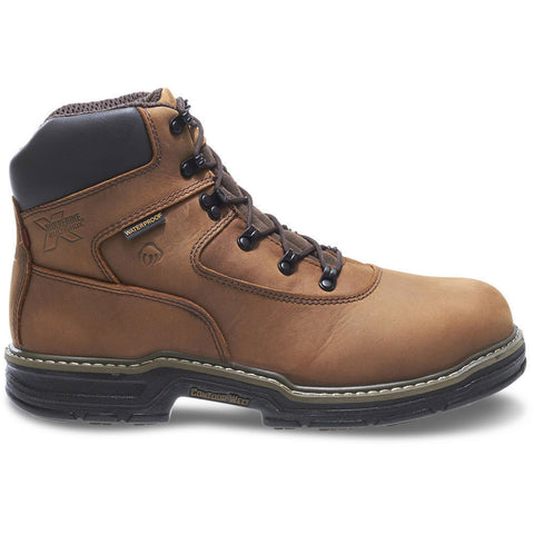 "Wolverine Men's Marauder Waterproof Steel-Toe EH Lace Up 6"" Work Boot"