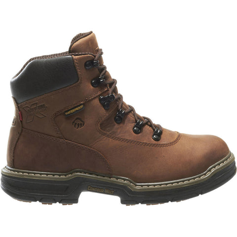 "Wolverine Men's Marauder Waterproof Lace Up 6"" Work Boot"