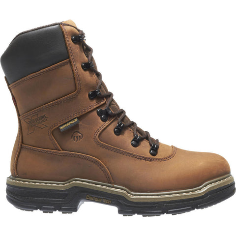 "Wolverine Men's Marauder Waterproof Lace Up 8"" Work Boot"