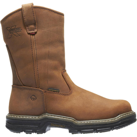 Wolverine Men's Marauder Waterproof Steel-Toe EH Wellington Work Boot
