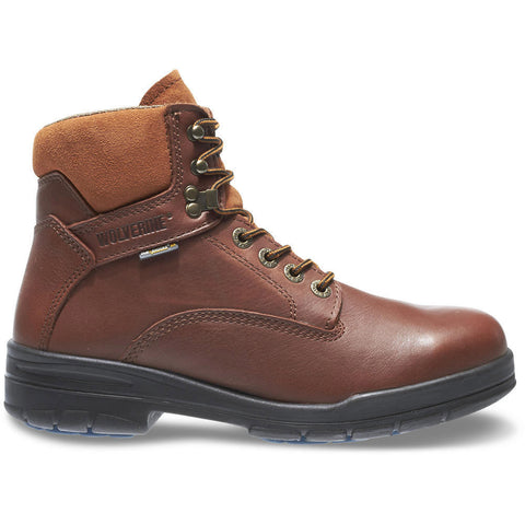 "Wolverine Men's Durashocks® SR Steel-Toe Direct-Attach EH 6"" Brown Work Boot"