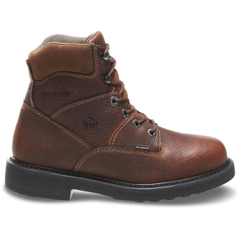 "Wolverine Men's Tremor Durashocks 6"" Work Boot"