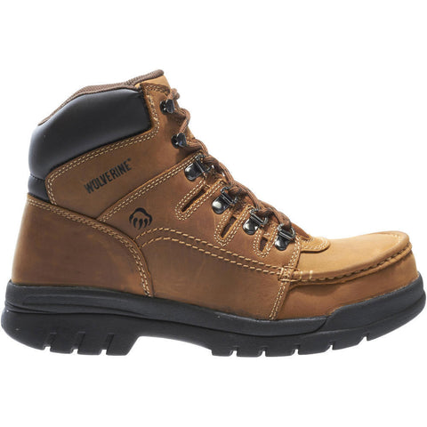 "Wolverine Men's Potomac English Moc Steel-Toe EH 6"" Work Boot"