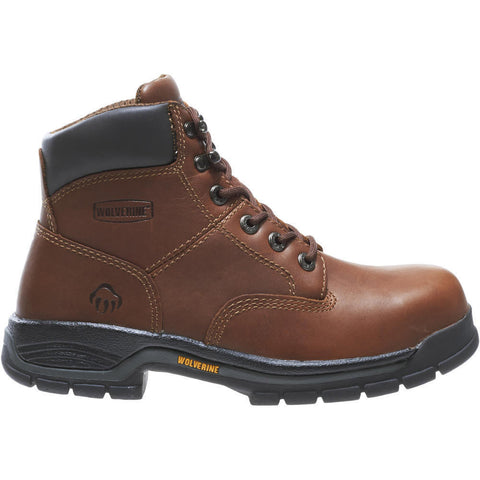 "Wolverine Women's Harrison 6"" Steel-Toe EH Work Boot"