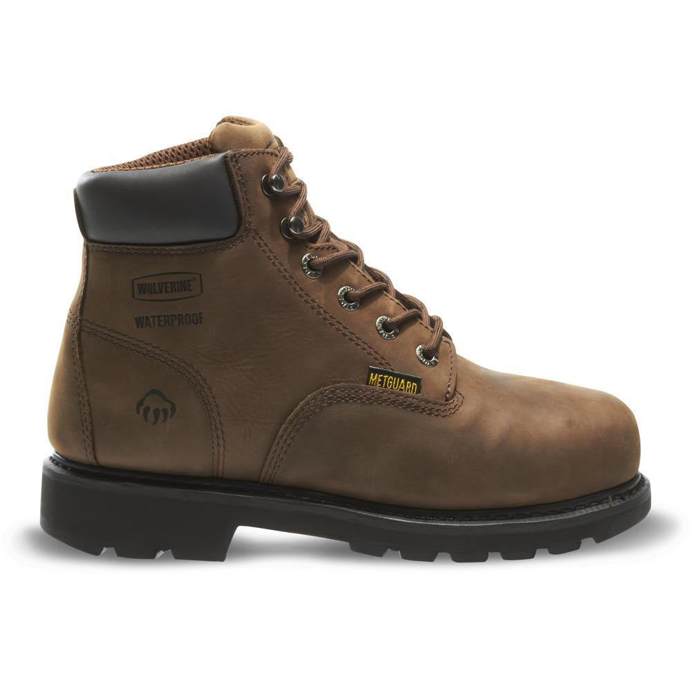 "Wolverine Men's Mckay Waterproof Steel-Toe EH 6"" Work Boot"