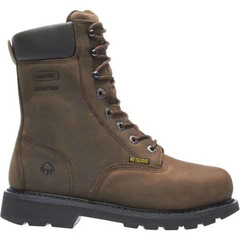"Wolverine Men's Mckay Waterproof Steel-Toe EH 8"" Work Boot"