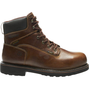 "Wolverine Men's Brek Durashocks® Waterproof 6"" Steel-Toe EH Work Boot"