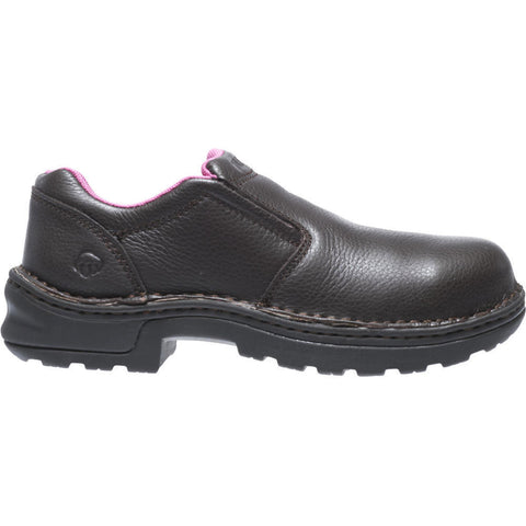 Wolverine Women's Bailey Opanka Steel-Toe EH Slip-On Work Shoe