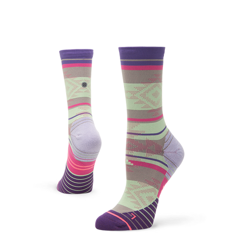 Stance Women's Motivation Crew, Purple