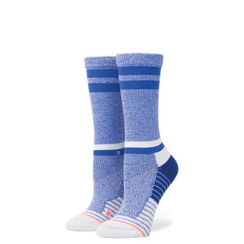 Stance Women's Sky Static Crew, Blue