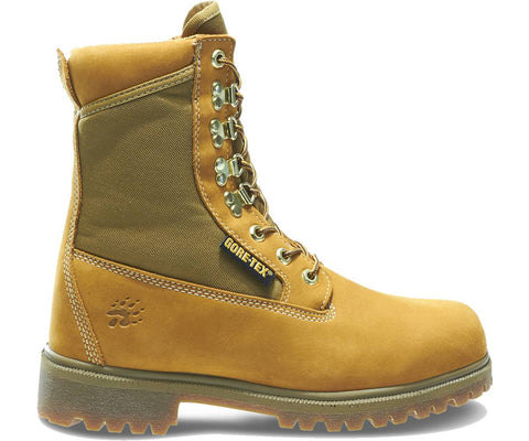 "Wolverine Men's Waterproof Insulated 8"" Work Boot - Gold"