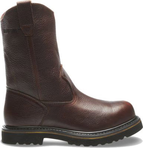 "Wolverine Men's Steel-Toe 10"" Wellington Work Boot"
