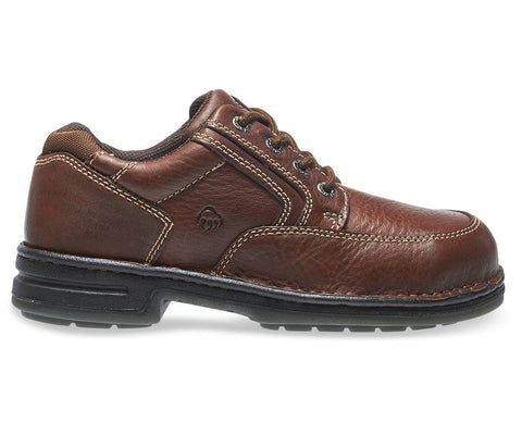 Wolverine Men's Durashocks® Steel-Toe EH Work Shoe - Maple/Dark Brown