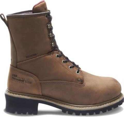Wolverine Men's Snyder Insulated Waterproof Steel-Toe EH Logger Work Boot