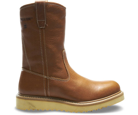"Wolverine Men's 10"" Wellington Work Boot - Agate"