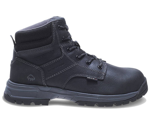 "Wolverine Men's Joliet Waterproof Composite-Toe EH 6"" Work Boot - Black"