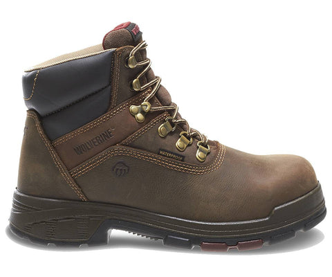 "Wolverine Men's Cabor EPX™ Waterproof Composite-Toe EH 6"" Boot - Dark Coffee"
