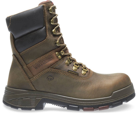 "Wolverine Men's Cabor EPX™ Waterproof Composite-Toe EH 8"" Work Boot - Dark Coffee"