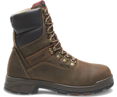 "Wolverine Men's Cabor EPX™ PC Dry Waterproof 8"" Boot - Dark Coffee"