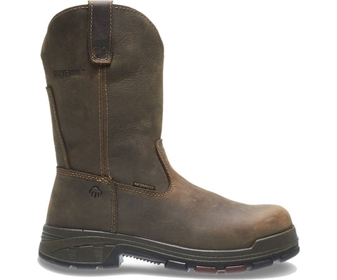Wolverine Men's Cabor EPX™ PC Dry Waterproof Composite-Toe EH Wellington - Dark Coffee