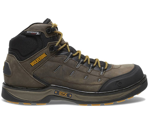 Wolverine Men's Edge LX EPX™ Waterproof Carbonmax Work Boot - Taupe/Yellow