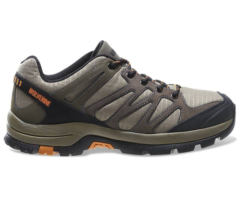 Wolverine Men's Fletcher Low Carbonmax Waterproof Hiking Shoe - Taupe