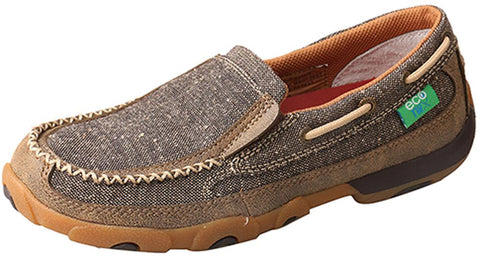 21b17912d93 Twisted X WDMS009 Women s ECO TWX Slip On Driving Moc D Toe