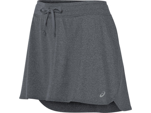 Asics Women's Skort Dark Grey Heather
