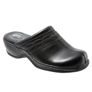 Softwalk Women's Abby Clog (Wide), Black