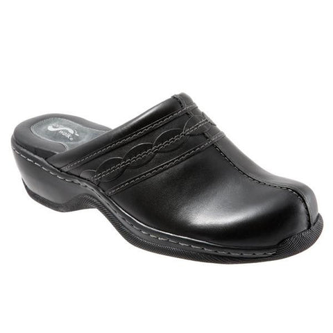 Softwalk Women's Abby Clog, Black