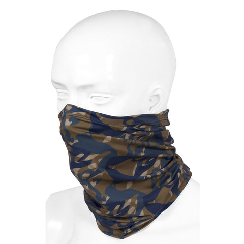 Grundens Fish Head Neck Gaiter, Butternut Camo