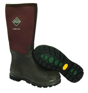Muck Boot Unisex Chore Cool Hi Brown