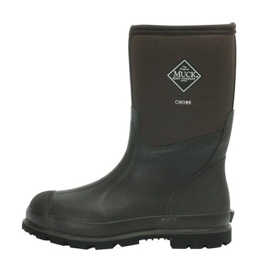 Muck Boot Unisex Chore Cool Mid Brown