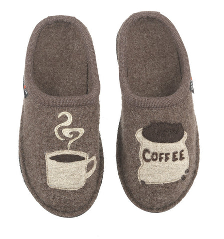 Haflinger Women's Coffee Slippers