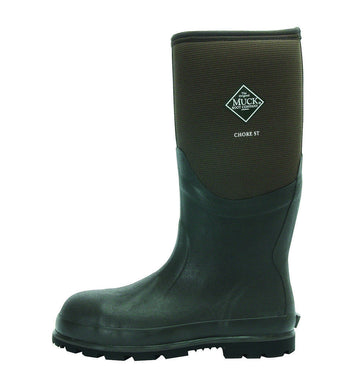 Muck Boot Unisex Chore Cool Safety Toe Brown