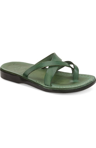 Jerusalem Sandals Women's Abigail, Green