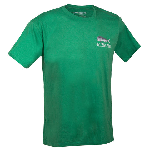 Grundens Men's Eat Dorado T-Shirt, Kelly Green